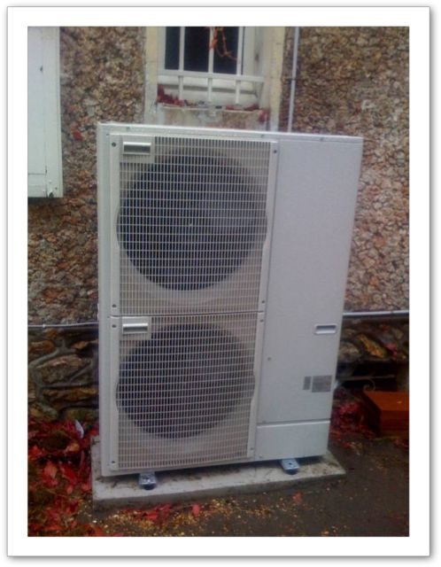 Pompe chaleur air eau module ext rieur rambouillet for Module exterieur